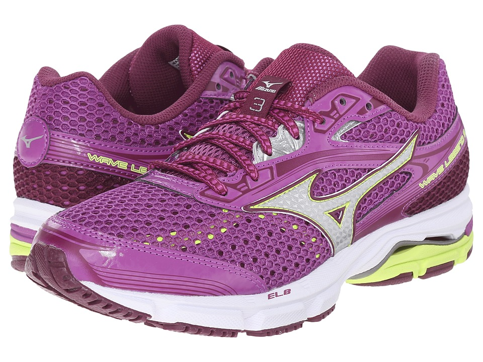 Mizuno - Wave Legend 3 (Hyacinth Violet/Silver) Women's Shoes