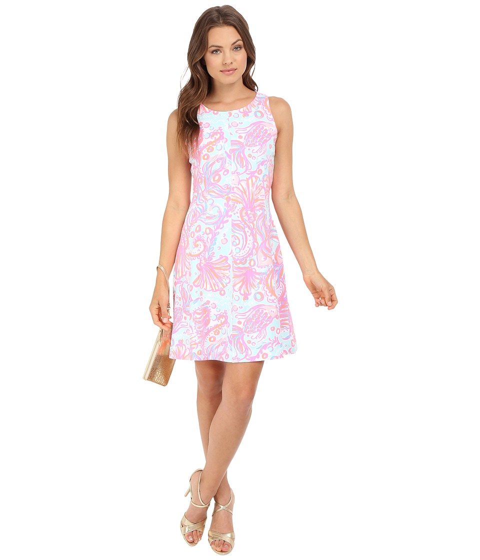 Lilly Pulitzer - Felicity Dress (Pink Pout Too Much Bubbly) Women's Dress