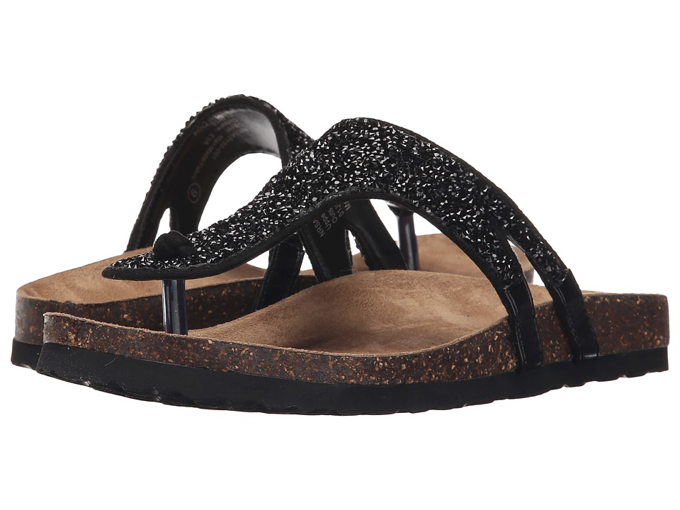 Not Rated - Bushey (Black) Women's Sandals