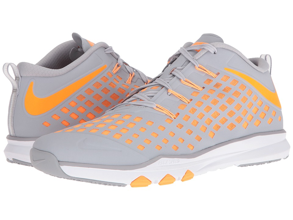 Nike - Train Quick (Wolf Grey/Bright Citrus/Blue Cap/White) Men's Shoes
