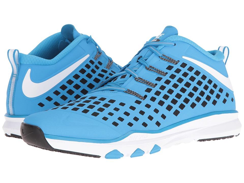 Nike - Train Quick (Blue Glow/White/Black/Volt) Men's Shoes