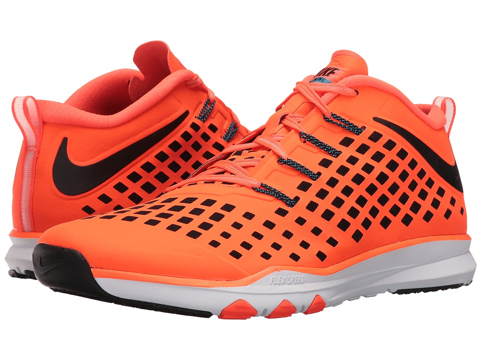 Nike Train Quick Total Crimson-Black-Blue Glow-White Mens Shoes