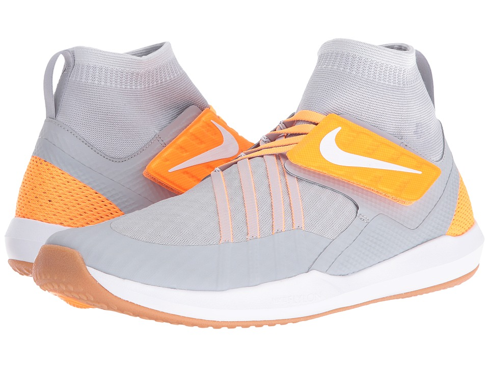 Nike - Train Dynamic (Wolf Grey/White/Pure Platinum/Bright Citrus) Men's Cross Training Shoes