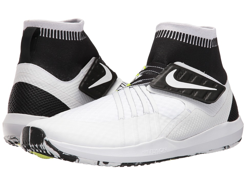 Nike - Train Dynamic (White/White/Black/Volt) Men's Cross Training Shoes