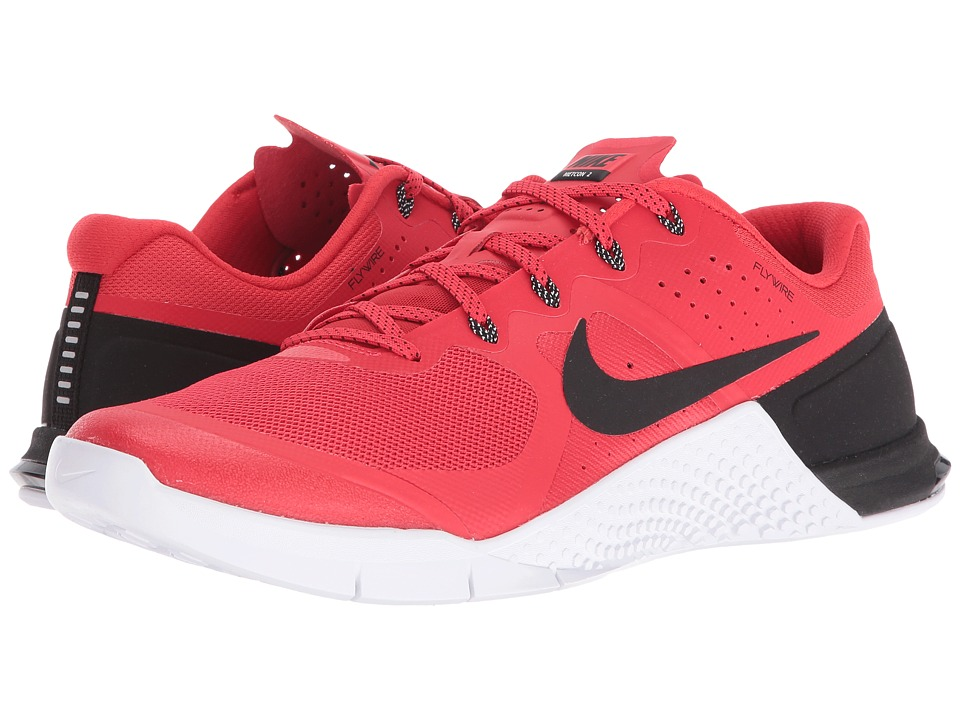 Nike - Metcon 2 (Action Red/Black/White) Men's Cross Training Shoes