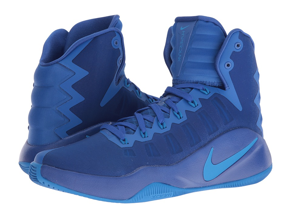Nike - Hyperdunk 2016 (Game Royal/Photo Blue/Black) Men's Basketball Shoes