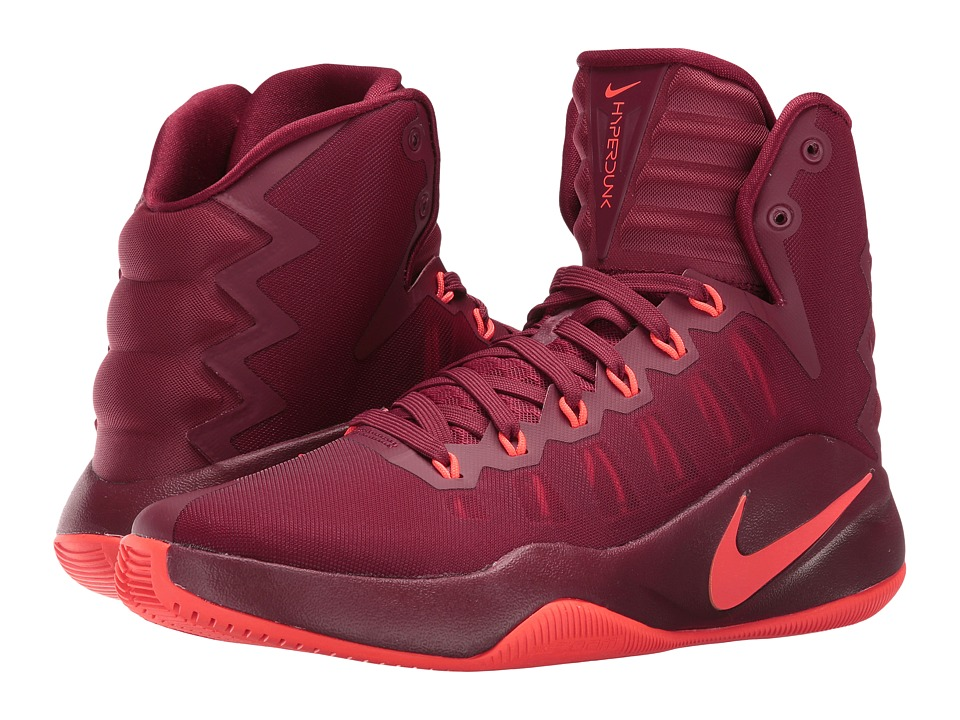 Nike - Hyperdunk 2016 (Team Red/Total Crimson) Men's Basketball Shoes