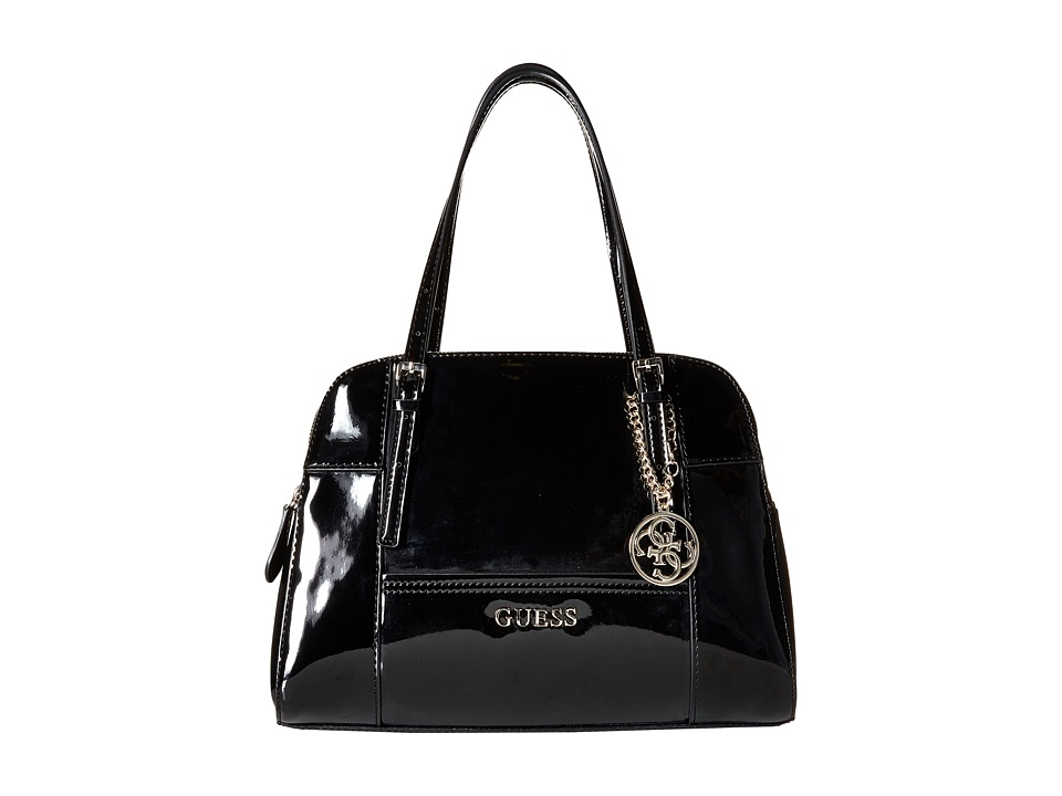 GUESS - Huntley Cali Satchel (Black) Satchel Handbags