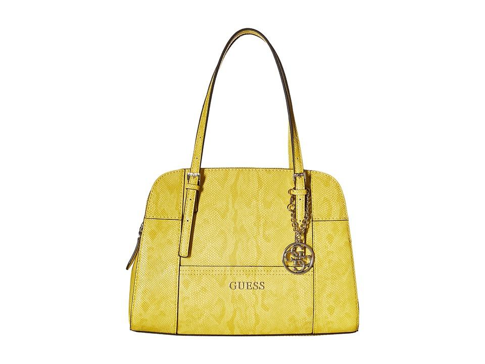 GUESS - Huntley Cali Satchel (Sun) Satchel Handbags