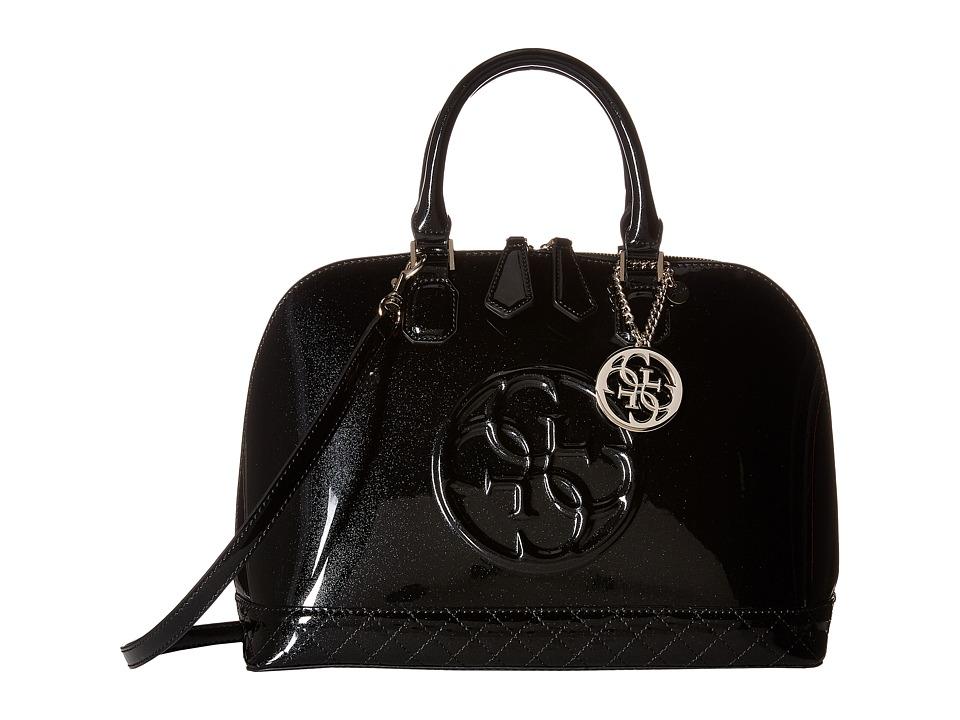 GUESS - Korry Dome Satchel (Onyx) Satchel Handbags