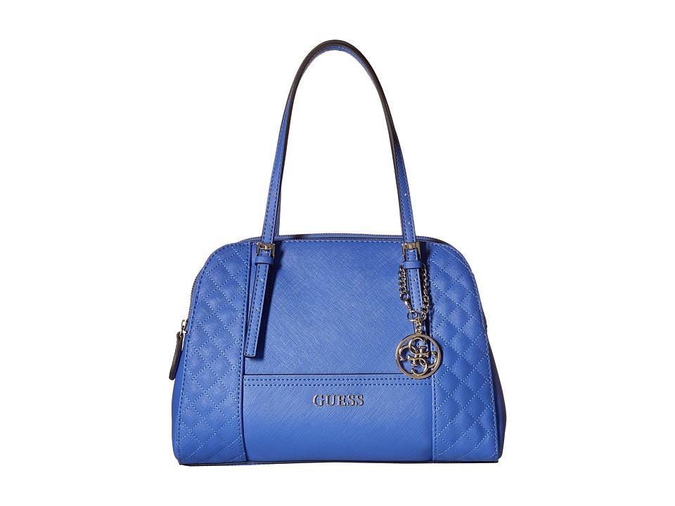 GUESS - Huntley Cali Satchel (Periwinkle) Satchel Handbags