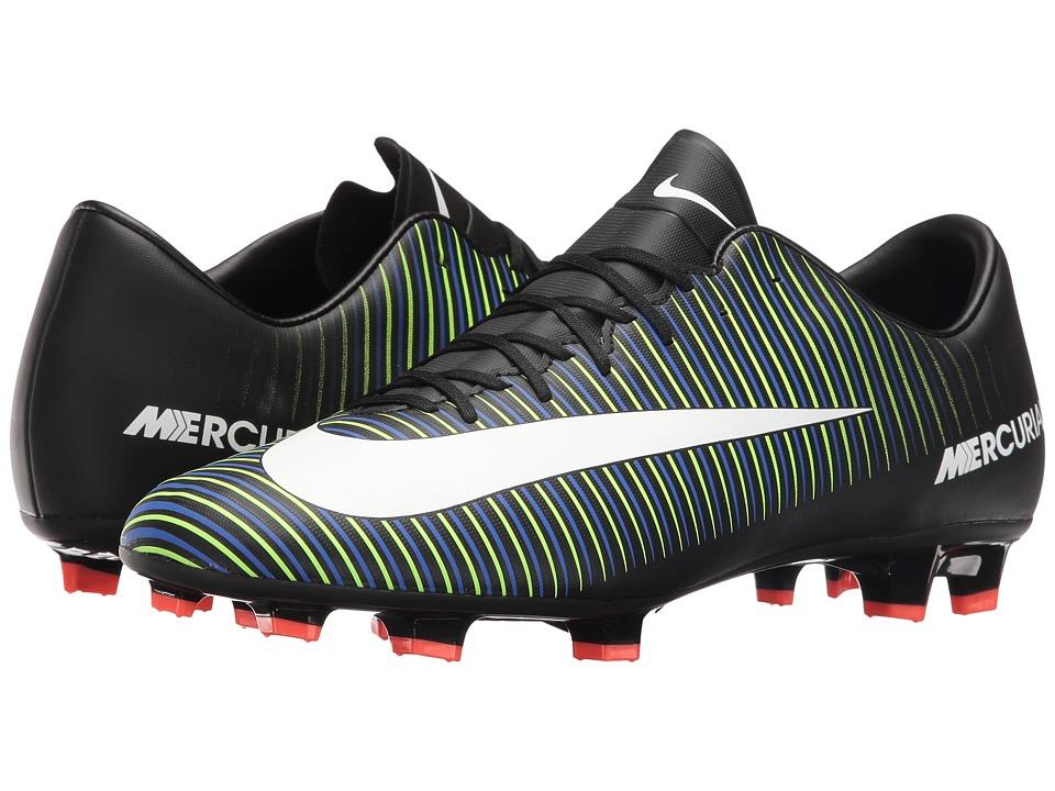 Nike Mercurial Victory VI FG (Black/White/Electric Green/...