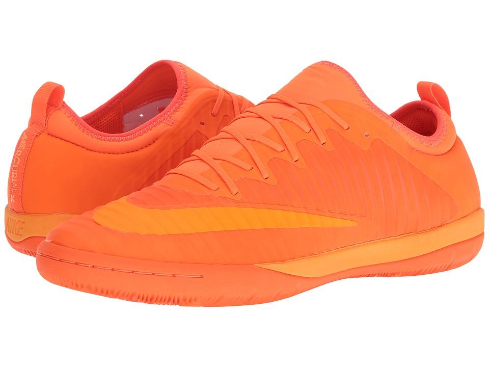 Nike - MercurialX Finale II IC (Total Orange/Bright Citrus/Hyper Crimson) Men's Soccer Shoes