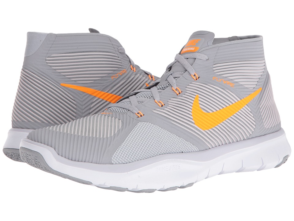 Nike - Free Train Instinct (Wolf Grey/Bright Citrus/Pure Platinum/White) Men's Cross Training Shoes