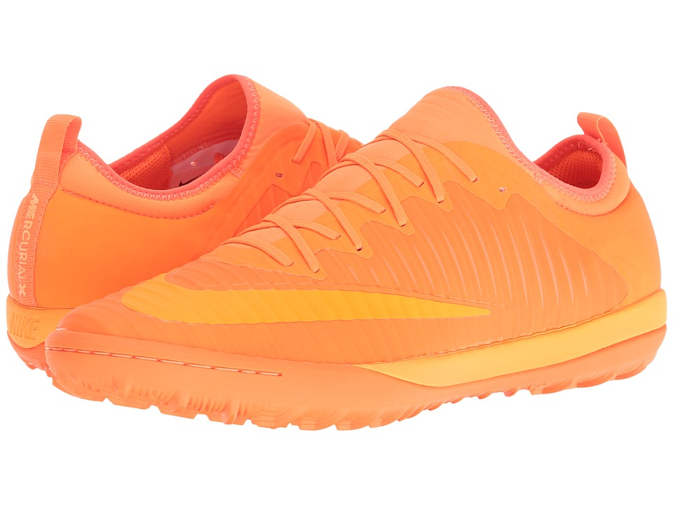 Nike - MercurialX Finale II TF (Total Orange/Bright Citrus/Hyper Crimson) Men's Soccer Shoes