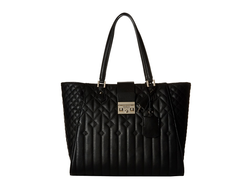 GUESS - Kalen Carryall (Black) Handbags