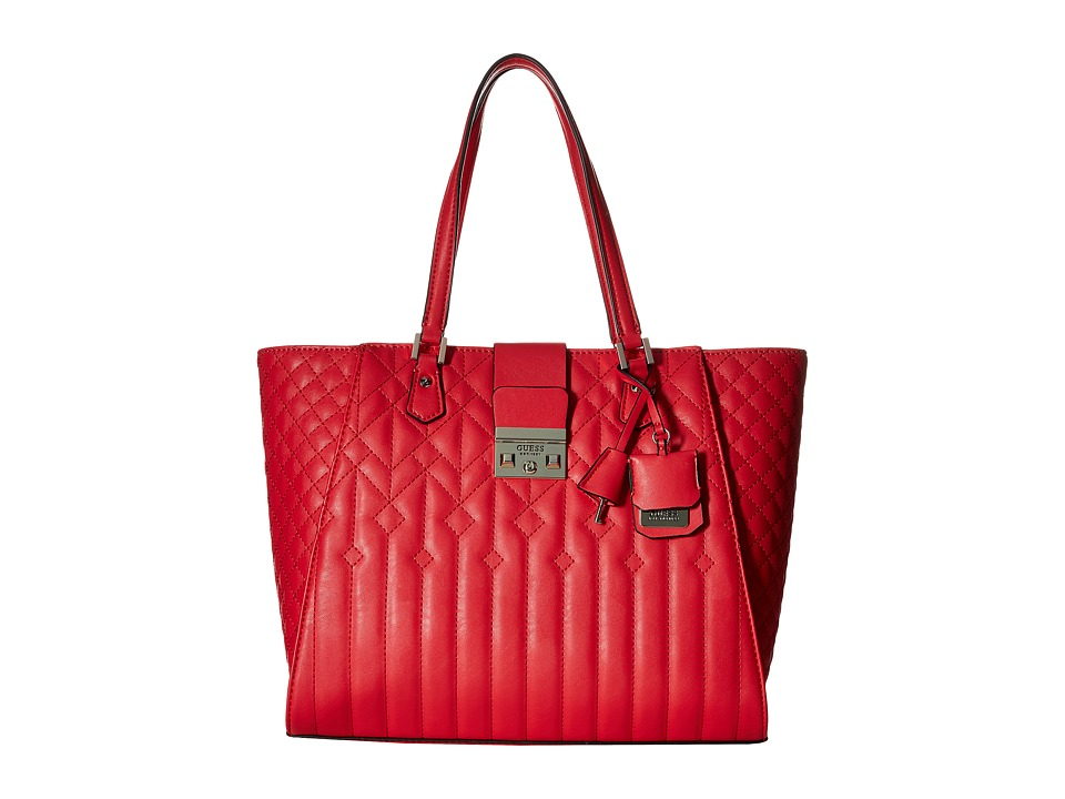GUESS - Kalen Carryall (Lipstick) Handbags