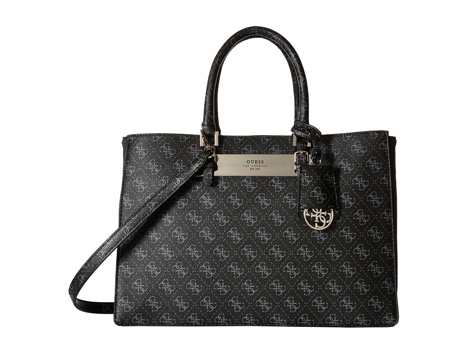 GUESS - Isla Carryall (Coal) Handbags