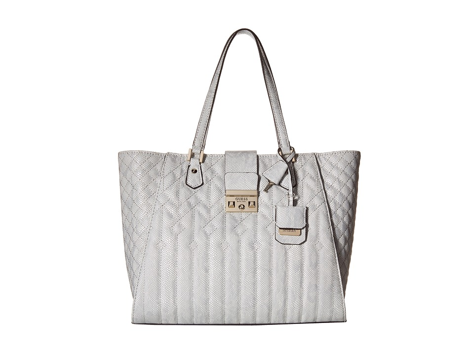 GUESS - Kalen Carryall (Dove) Handbags