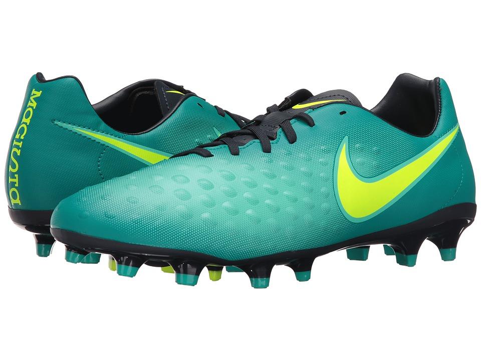 Nike - Magista Onda II FG (Rio Teal/Volt/Obsidian/Clear Jade) Men's Shoes