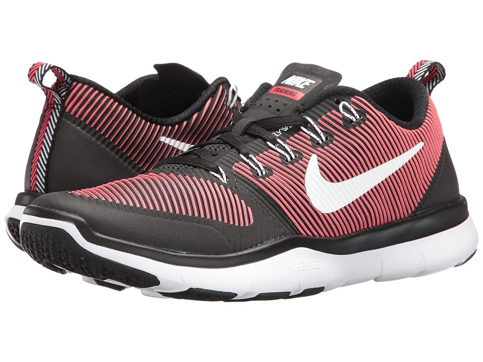 Nike - Free Train Versatility (Black/White/Action Red) Men's Cross Training Shoes