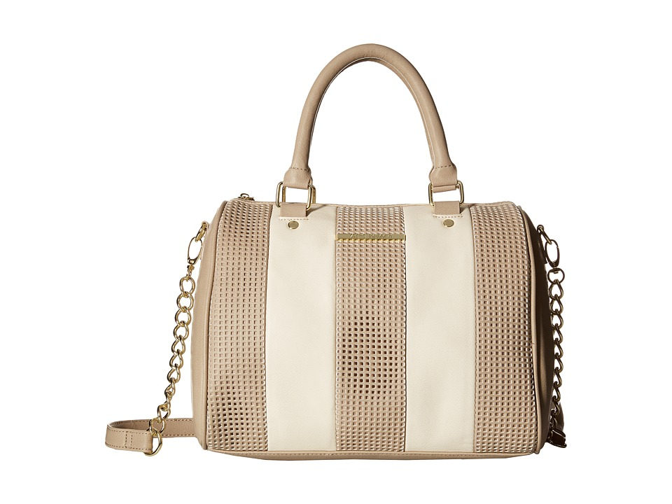 Steve Madden - Barrel Perf Stripe (Bone/Multi) Handbags