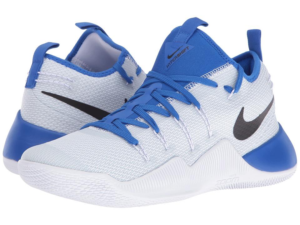 Nike - Hypershift (White/Black/Hyper Cobalt) Men's Basketball Shoes