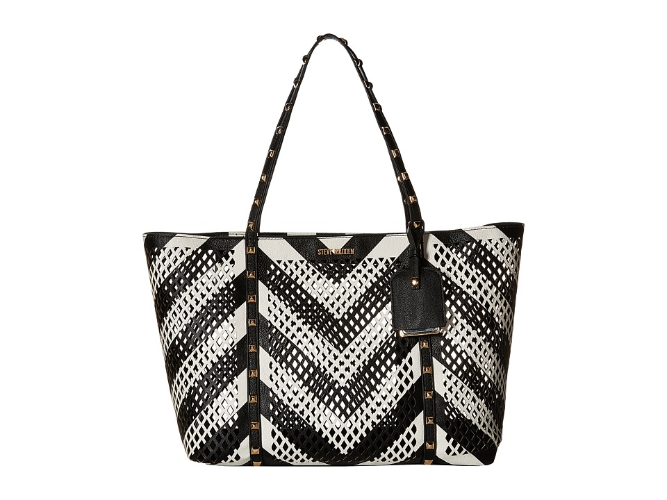 Steve Madden - Bbella (Black/White Multi) Handbags