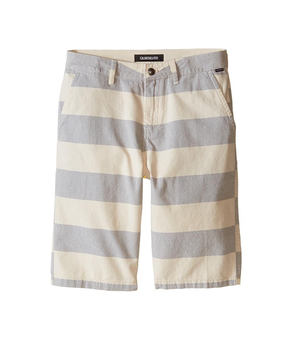 Quiksilver Kids - Pointbreak Shorts (Big Kids) (Rainy Day) Boy's Shorts