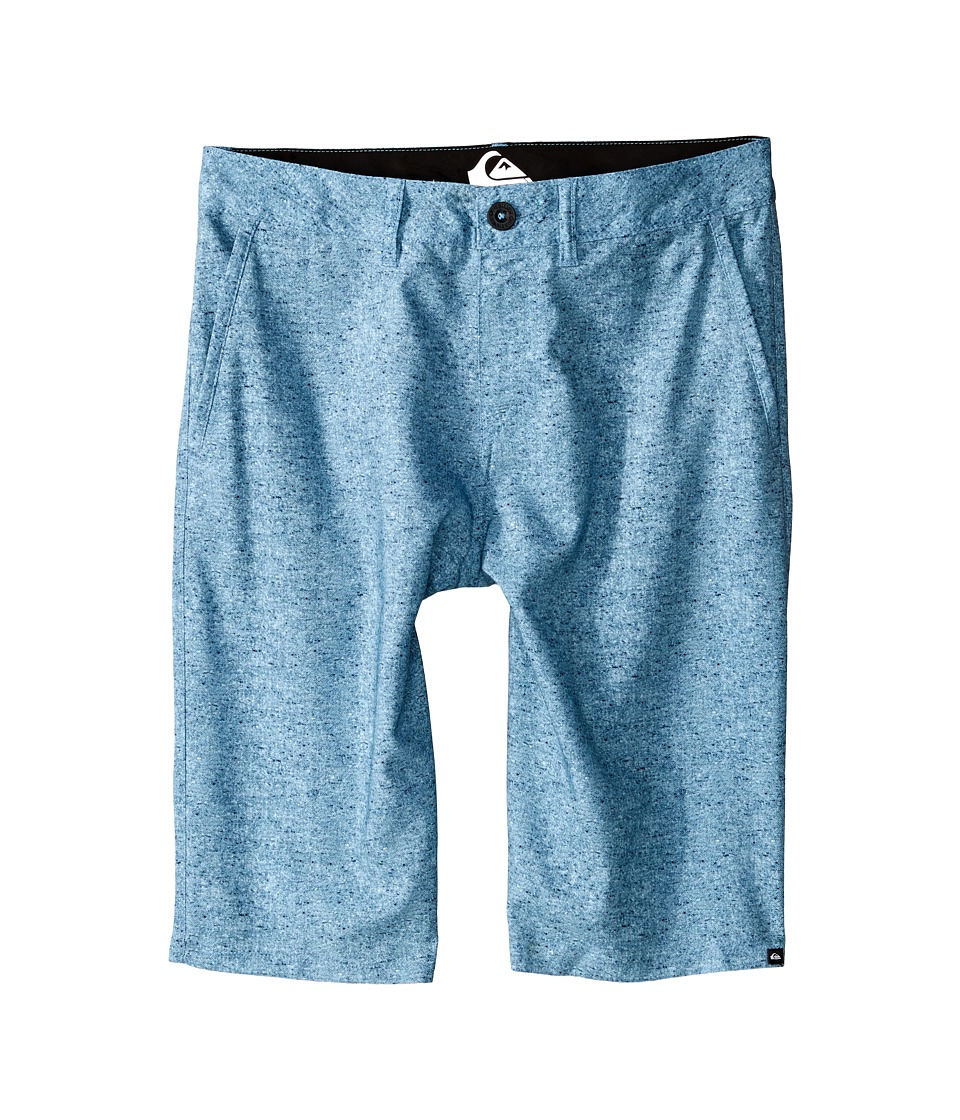 Quiksilver Kids - Subtle Amphibian Shorts (Big Kids) (Niagara) Boy's Shorts