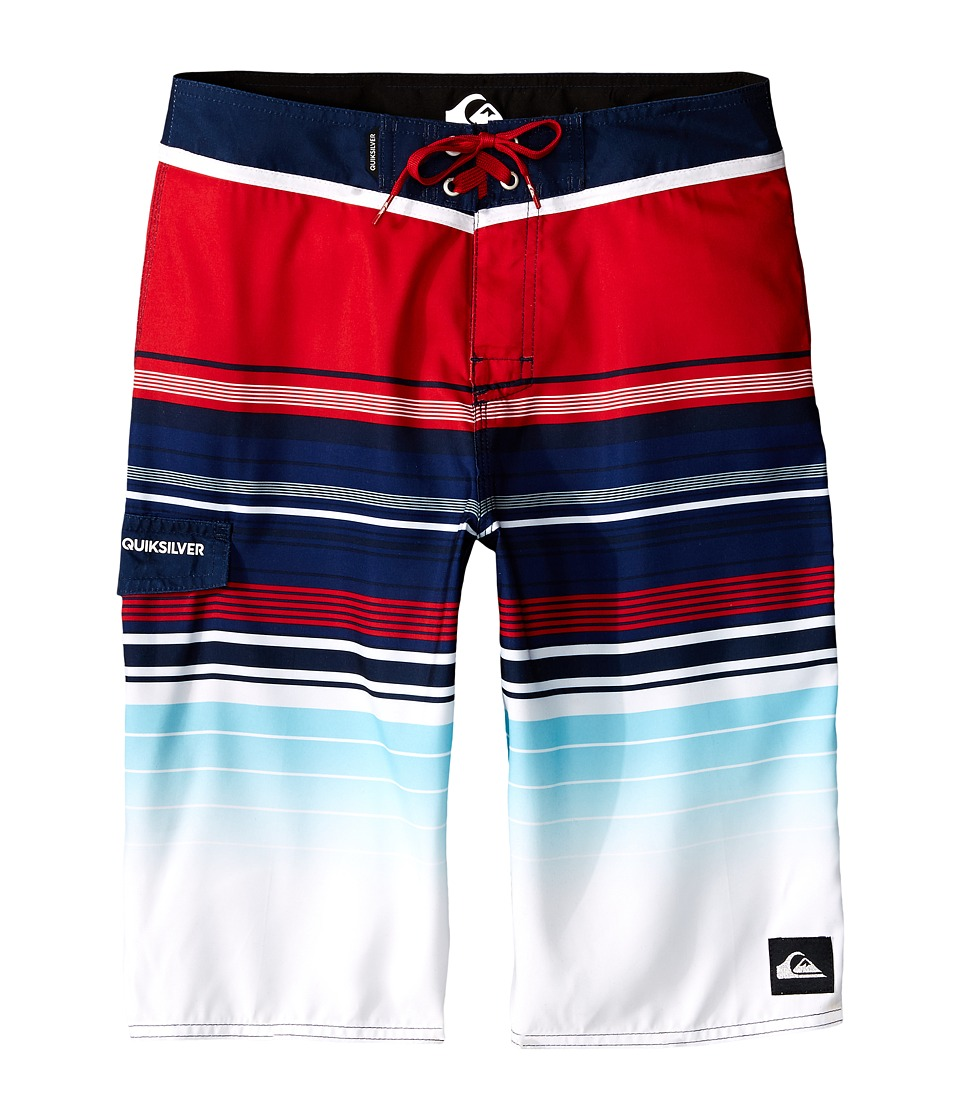 Quiksilver Kids - Right On Right On Trunks (Big Kids) (Navy Blazer) Boy's Swimwear