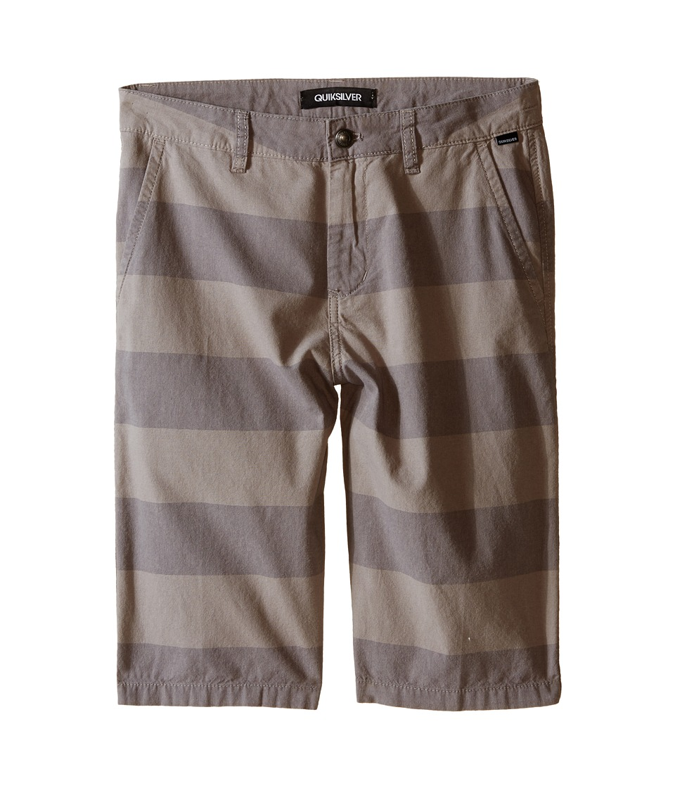Quiksilver Kids - Pointbreak Shorts (Big Kids) (Steeple Grey) Boy's Shorts