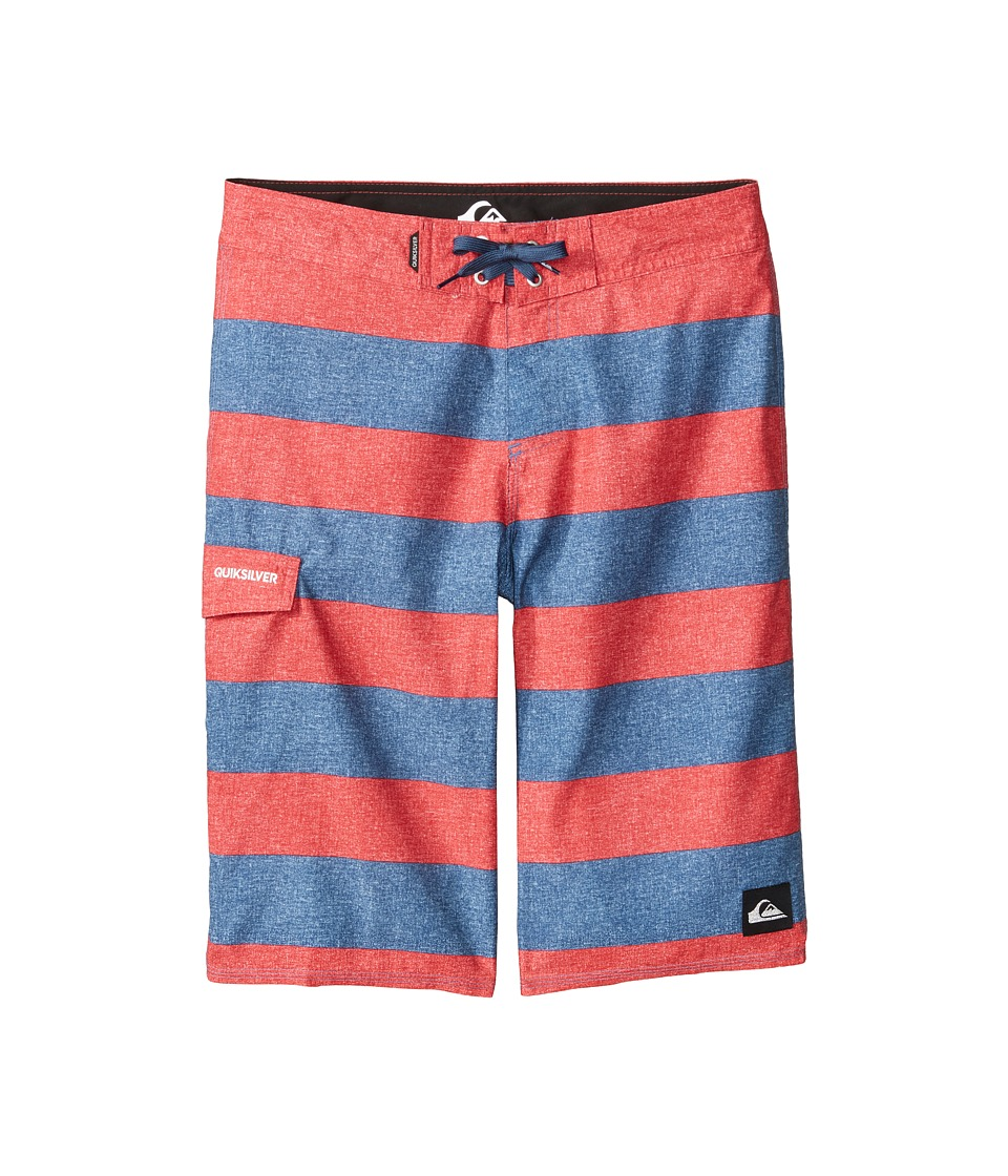 Quiksilver Kids - Everyday Brigg Trunks (Big Kids) (Dark Denim) Boy's Swimwear