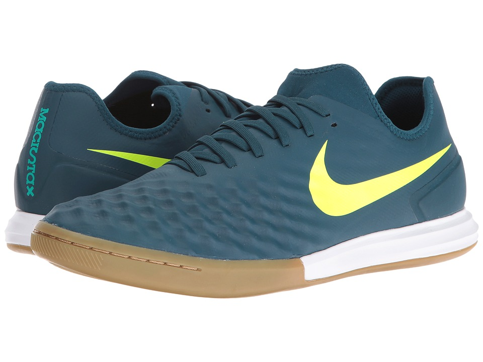 Nike - Magistax Finale II IC (Mid Turquoise/Volt/Hasta/Gum Light Brown) Men's Shoes
