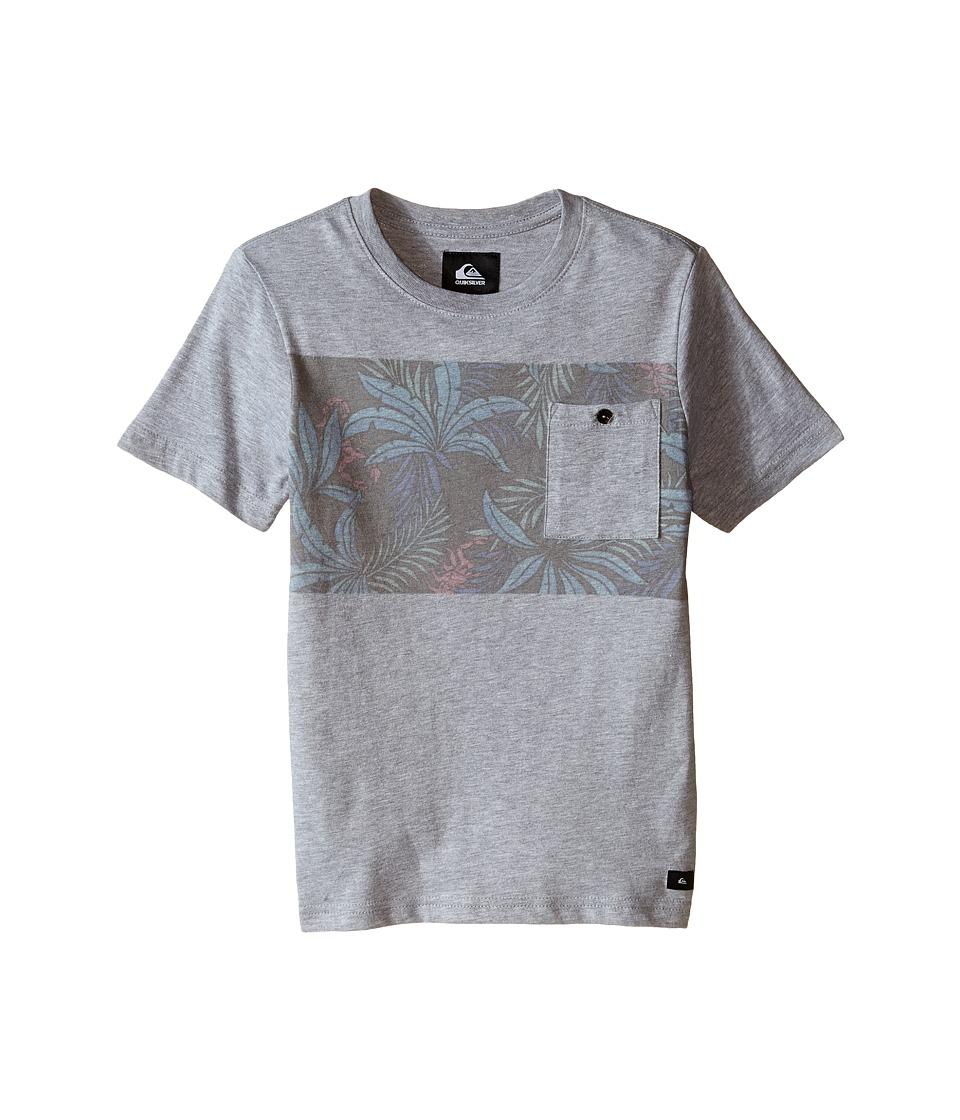 Quiksilver Kids - Upton Top (Big Kids) (Grey Heather) Boy's T Shirt
