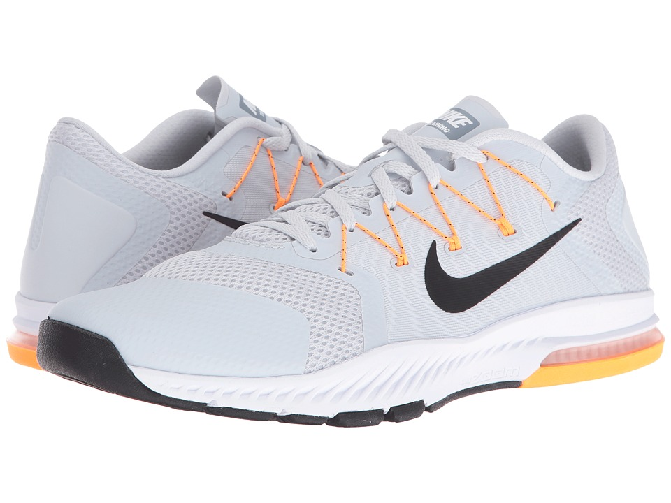 Nike - Zoom Train Complete (Pure Platinum/Black/Bright Citrus/Cool Grey) Men's Cross Training Shoes