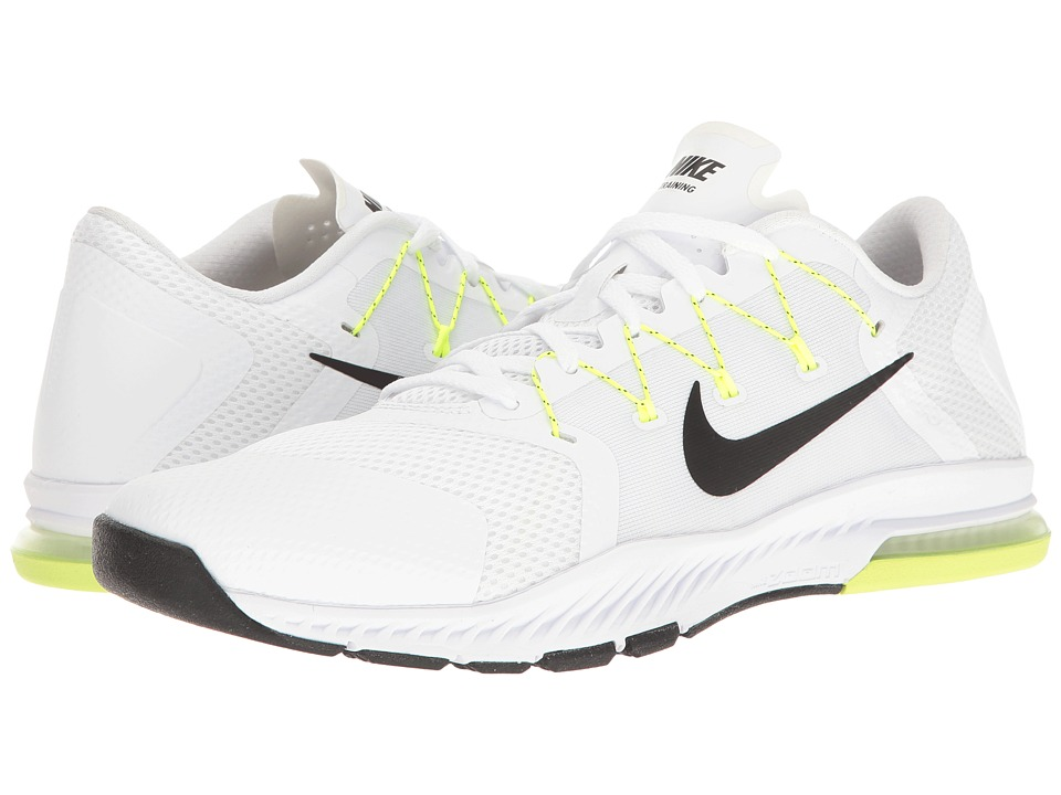 Nike - Zoom Train Complete (White/Black/Pure Platinum/Volt) Men's Cross Training Shoes