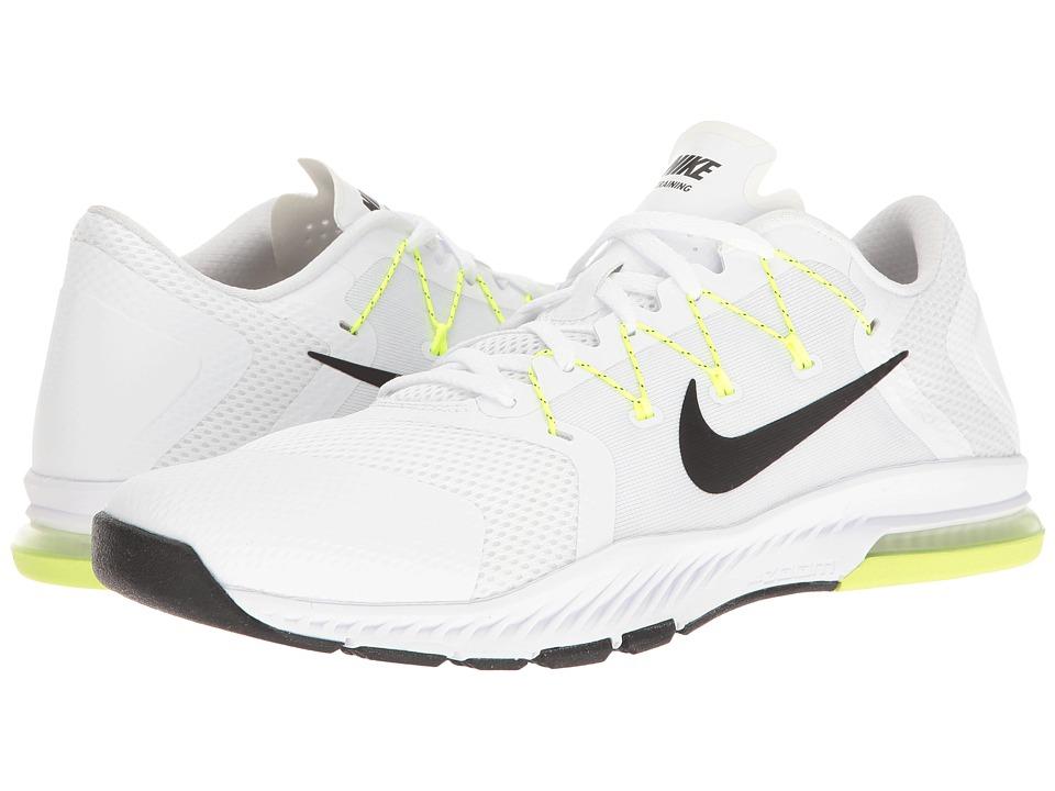 Nike - Zoom Train Complete (White/Black/Pure Platinum/Volt) Men's Cross Training Shoes