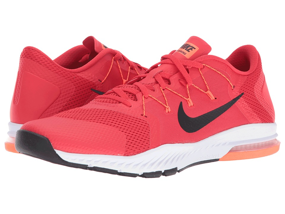 Nike - Zoom Train Complete (Action Red/Black/Total Crimson/White) Men's Cross Training Shoes