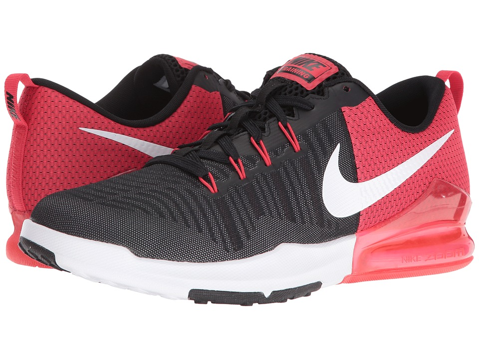 Nike - Zoom Train Action (Black/White/Wolf Grey/Action Red) Men's Cross Training Shoes