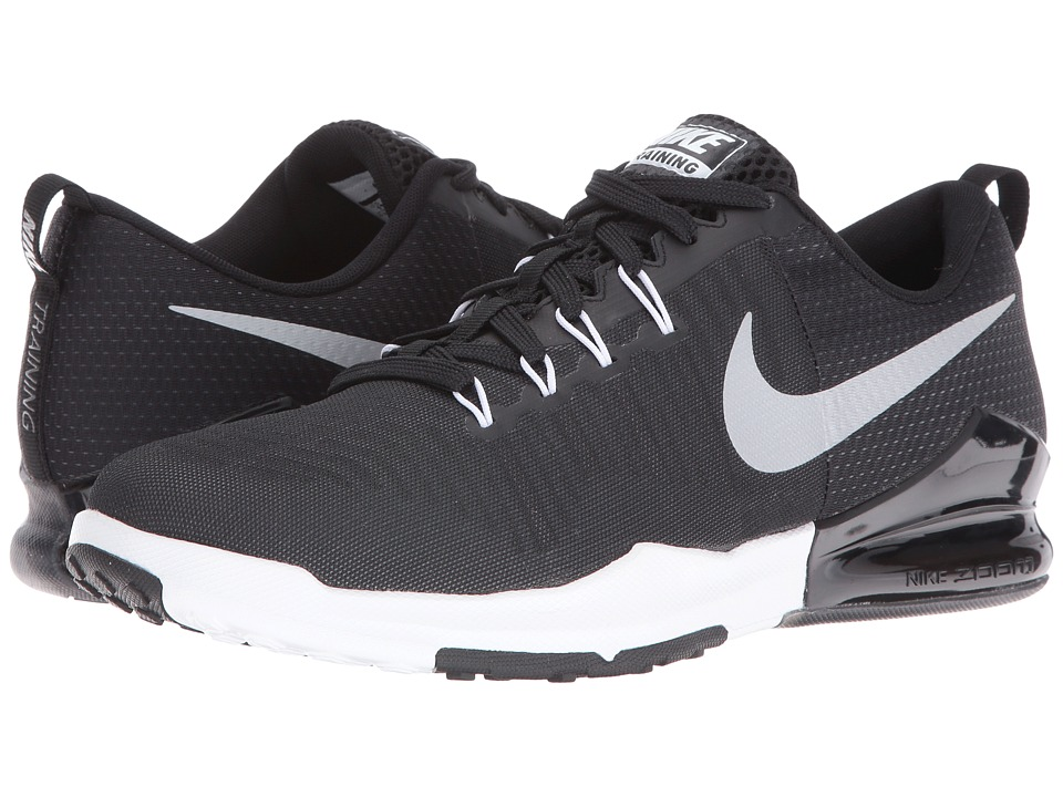 Nike - Zoom Train Action (Black/Metallic Silver/Anthracite/White) Men's Cross Training Shoes