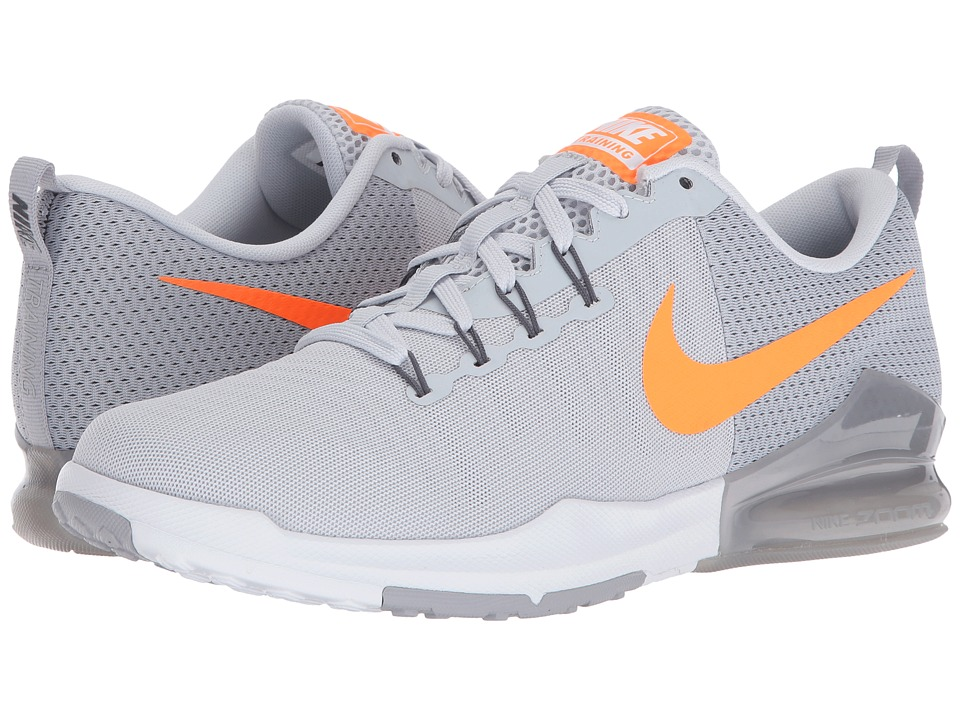 Nike - Zoom Train Action (Pure Platinum/Bright Citrus/Wolf Grey/Dark Grey) Men's Cross Training Shoes