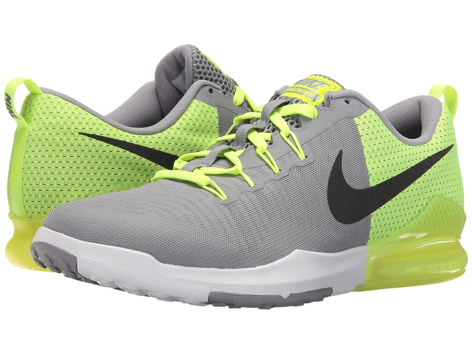 Nike - Zoom Train Action (Stealth/Black/Volt/White) Men's Cross Training Shoes