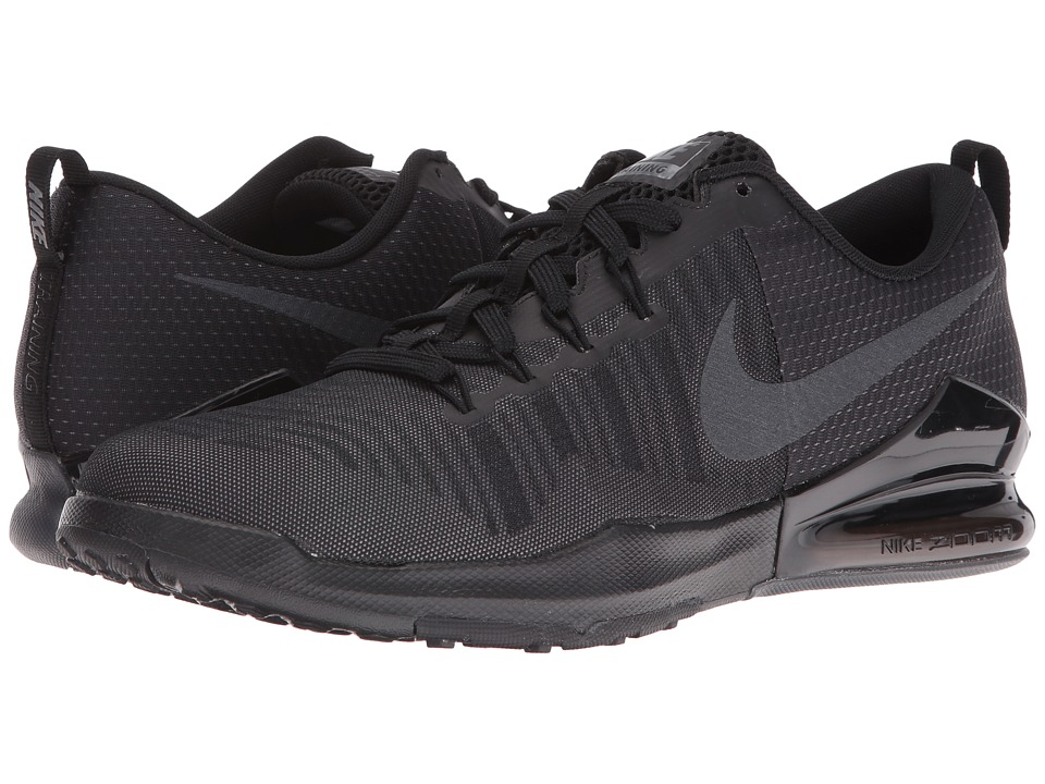 Nike - Zoom Train Action (Black/Metallic Hematite/Dark Grey) Men's Cross Training Shoes