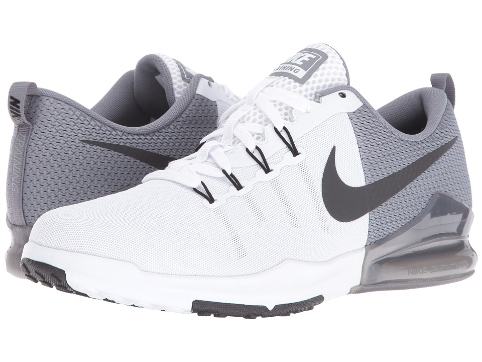 Nike - Zoom Train Action (White/Black/Cool Grey/Pure Platinum) Men's Cross Training Shoes