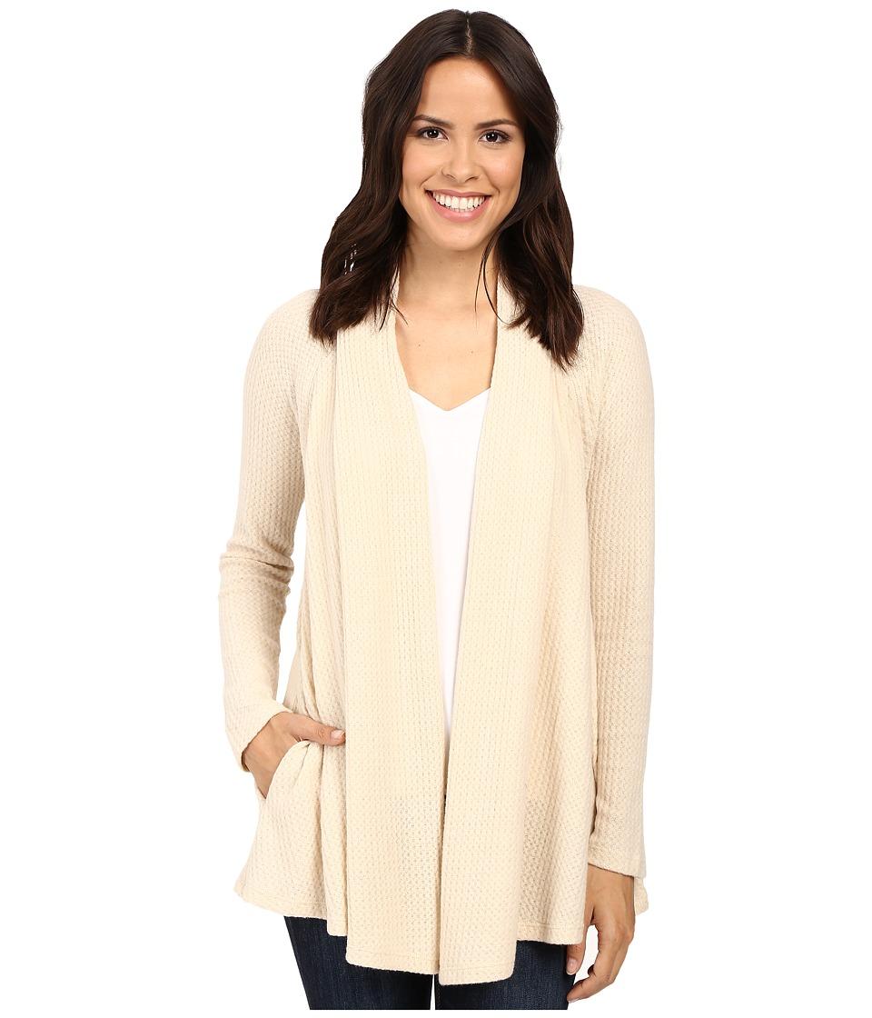 B Collection by Bobeau - Lynne Knit Cardigan (Oatmeal) Women's Sweater