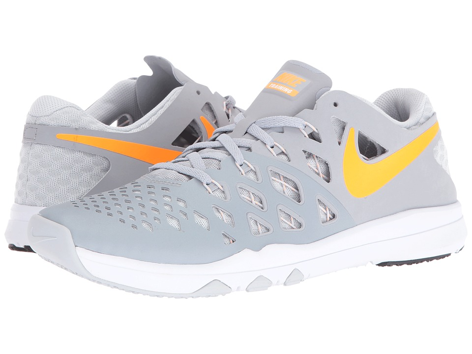Nike - Train Speed 4 (Wolf Grey/Bright Citrus/Pure Platinum/White) Men's Shoes