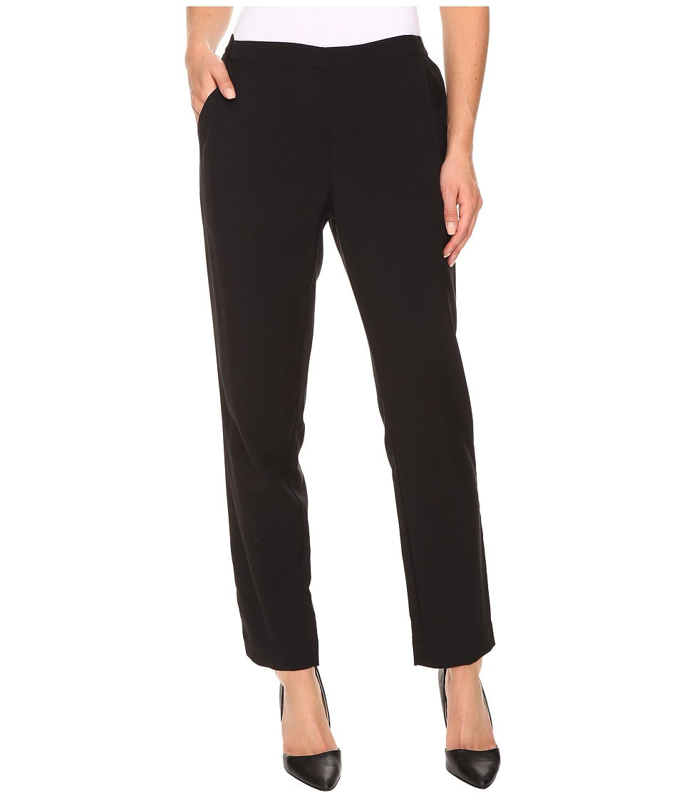 B Collection by Bobeau - Vella Badardine Trousers (Black) Women's Casual Pants