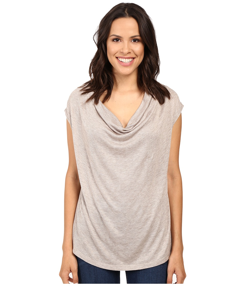 B Collection by Bobeau - Sharon Cowl Neck Knit (Melange) Women's Clothing