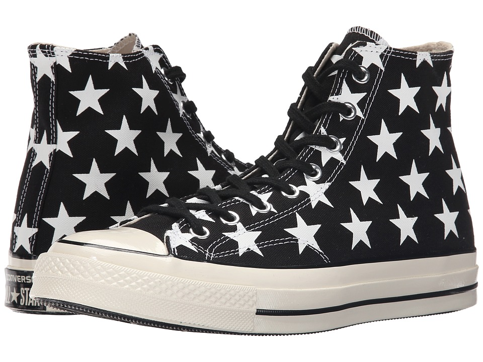 Converse - Chuck Taylor All Star '70 High (Black/White/Egret) Classic Shoes